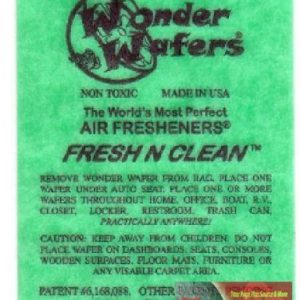 wonder wafers fresh and clean 15 pack