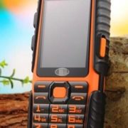 NEW-LANDROVER-A6-GSM-Rugged-ORANGE-Mobile-Phone-w-Power-Bank-Dual-Sim-Card-172348522299